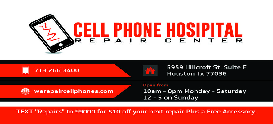 We Repair Cell Phones